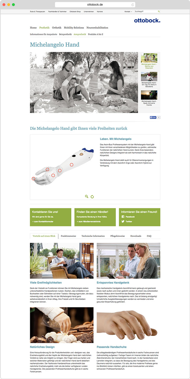 Ottobock website 02